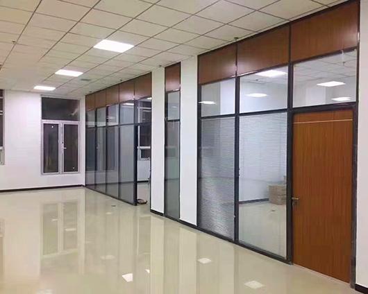 全铝玻璃高隔断