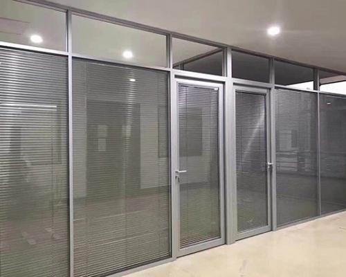 全铝玻璃隔断墙定制